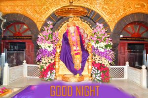 Sai Baba HD Good Night Images Photo Download