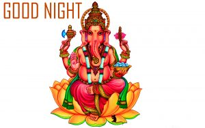 Lord God Ganesha Free Good Night Pictures Download