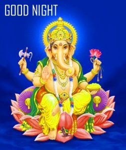 God Ganesha Good Night Images