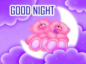 Cute Good Night Images Photo With Cartoon