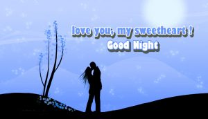 Love Couple Good Night Images Photo Pictures For Husband