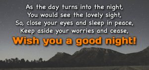 Good Night Wishes Greetings Images Photo With Quotes