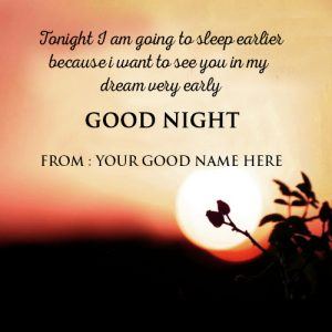 Sweet Good Night Images  Wallpaper With Quotes