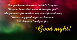 Gud Night Images Photo With Quotes