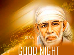 God Sai Baba Good Night Images Photo Pictures Download