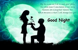 gdnt / good night Images Wallpaper Pics With Romantic Couple