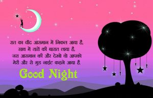 Gud Night Images Photo In Hindi Quotes