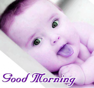 Baby Good Morning Images Photo Pics Wallpaper Pictures Download