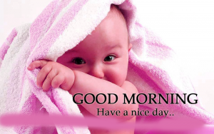 Baby Good Morning Images Photo Wallpaper Pictures Pics HD Download