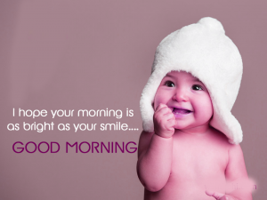 Baby Good Morning Images Wallpaper Photo Download