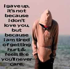 Feeling Sad images wallpaper with quotes