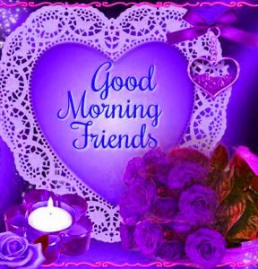 Best friends Good Morning Photo Wallpaper Download
