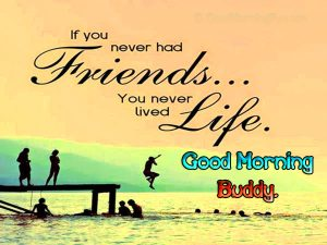 Best friends Good Morning Photo Download In HD