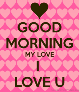 Good Morning I love you Images Wallpaper Photo Download