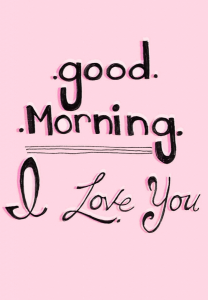 Good Morning I love you Images pics HD Download