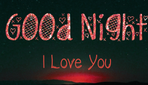I Love You Good Night Images Photo HD For Whatsaap