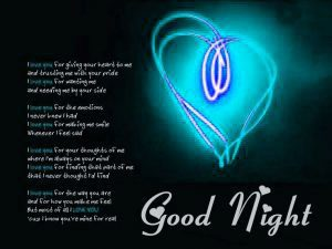 Love Good Night Images  Photo Pics Download