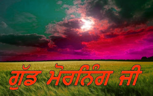 Punjabi Good Morning Images Photo Pictures Wallpaper Free Download