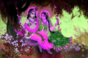 God Radha Krishna Good Morning Wallpaper Pictures Download