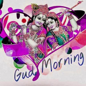 God Radha Krishna Good Morning Pics Wallpaper Free Download