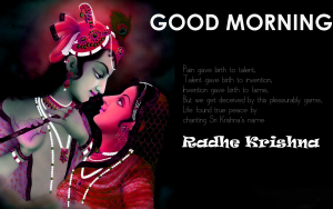 God Radha Krishna Good Morning Images Wallpaper Pics Download