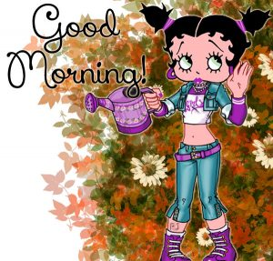 Betty Boop Good Morning Images Photo HD Download