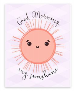 Good Morning Sunshine Images Photo Pictures Download