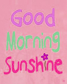 Good Morning Sunshine Images Photo Wallpaper Pics Download