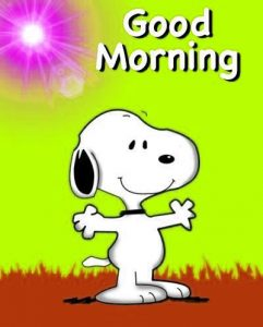 Snoopy Good Morning Images Photo Pics Download