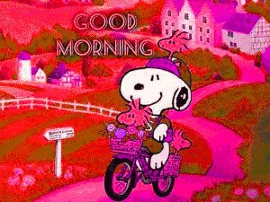 Snoopy Good Morning Images Photo Wallpaper HD Download