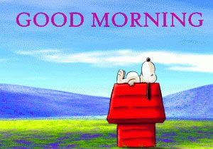 Snoopy Good Morning Images Photo Pics HD Download