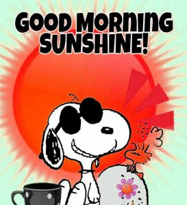 Snoopy Good Morning Images Photo Wallpaper Pic HD