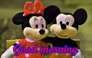 Mickey Mouse good morning Wallpaper Pics