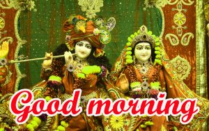God Radha Krishna good morning Pictures Free Download