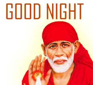 Sai Baba Good Night Images Photo Wallpaper Pictures HD Download