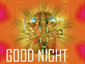 God Good Night Wallpaper With Hanuman Ji For Whatsapp