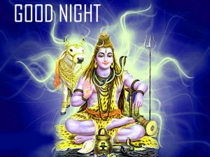 God Lord Shiva Good Night Images Wallpaper for Whatsapp