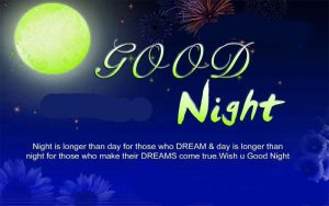 Hindi Good Night Message Images Photo Free Download