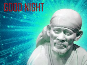 Om Sai Naath Good Night Photo Pictures Download