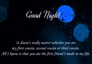 Good Night Wishes Images Photo for Mobile