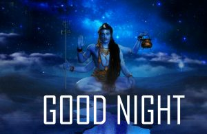 Good Night Images With Hindu God Lord Shiva