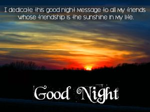 Good Night Message Images Photo Download