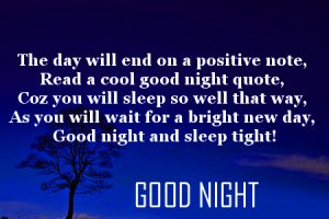 Good Night Message Images With Quotes