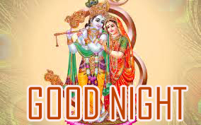 Radha Krishan God Good Night Photo Pictures Download