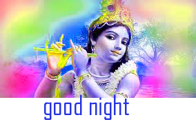 God Krishna Good Night Images Pics Wallpaper Download
