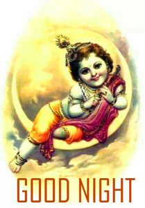 God Krishna Good Night Images Pictures Download