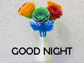 new good night images Photo Wallpaper With Flower