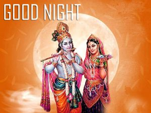 Free God Radha Krishna Good Night Images Photo Download