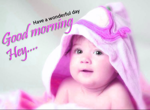 Baby Good Morning Images Wallpaper Photo Pictures Pics HD Download