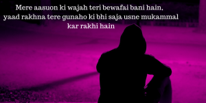 Bewafa Hindi Shayari Images Photo Pics HD Download